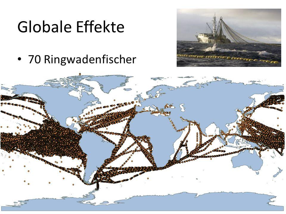 Globale Effekte 70 Ringwadenfischer