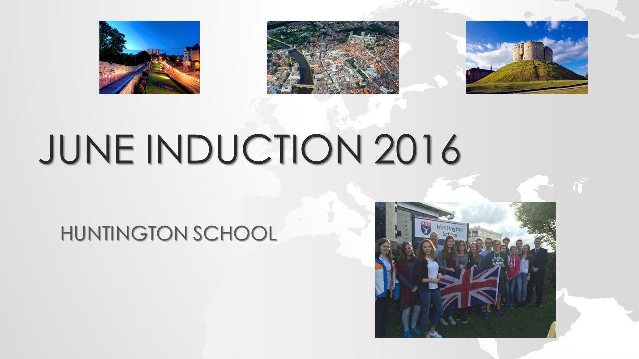 JUNE INDUCTION 2016 HUNTINGTON SCHOOL
