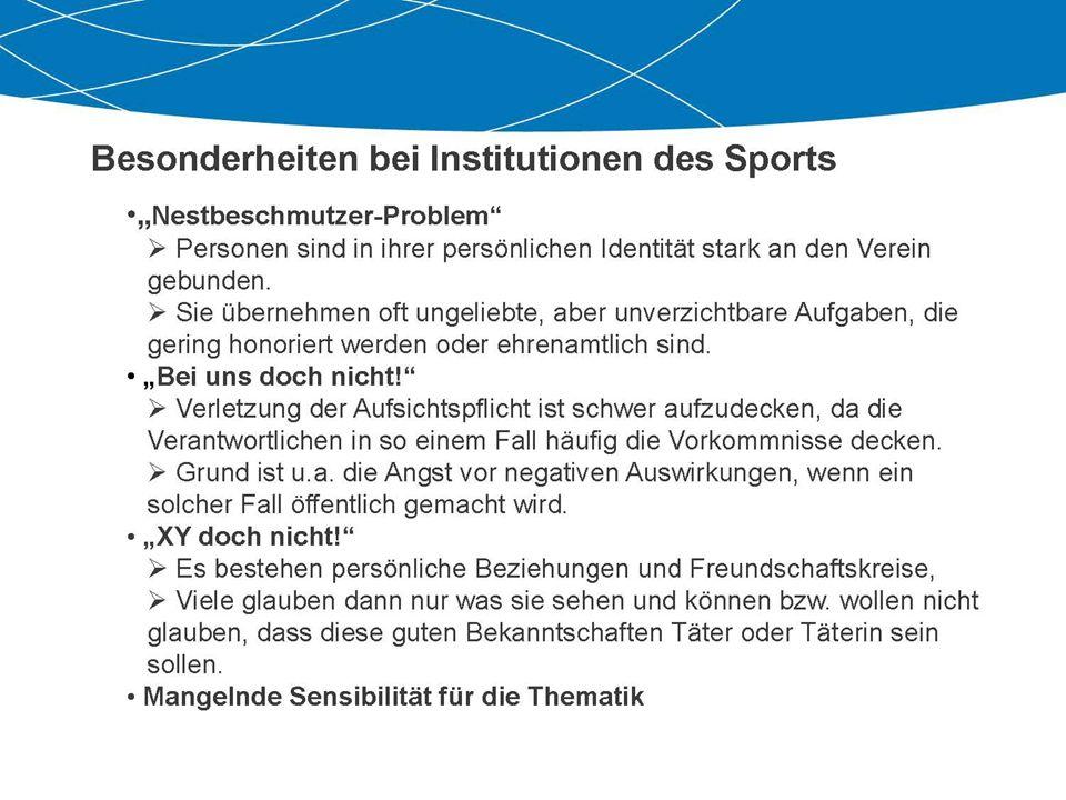... Perspektiven im Sport Wir für Euch...