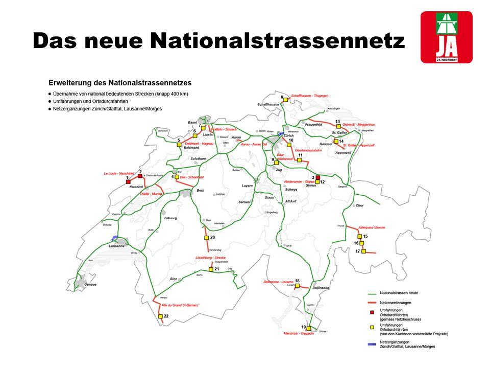 Das neue Nationalstrassennetz