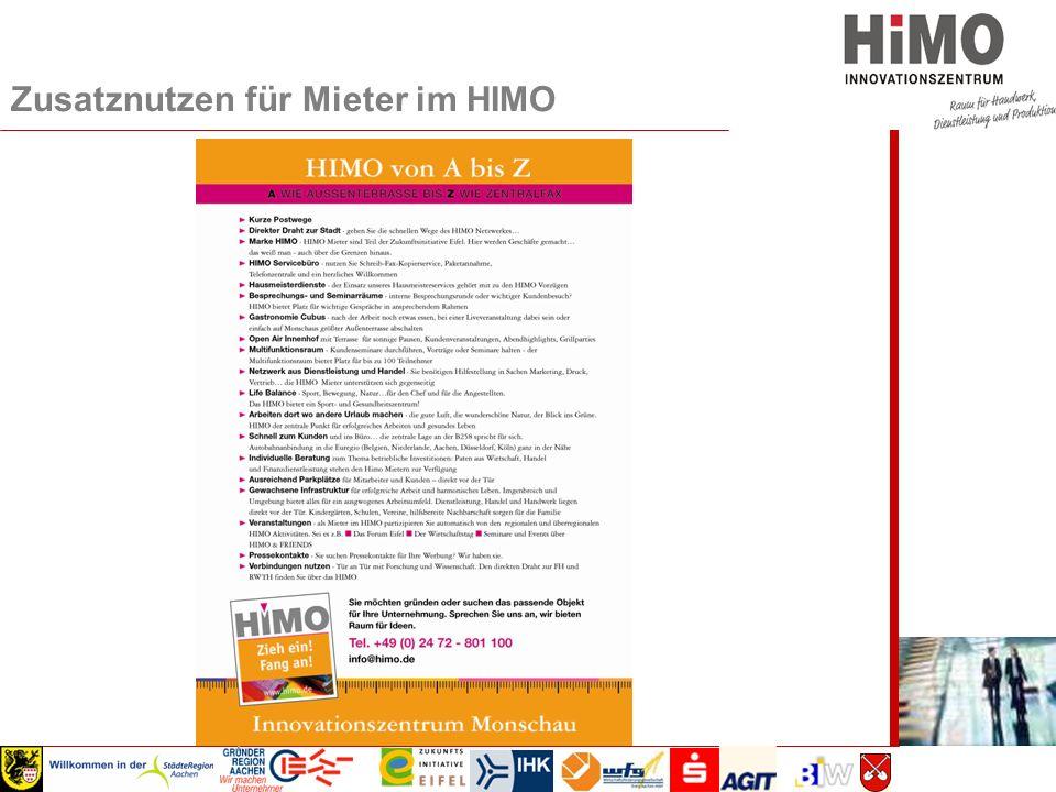 Wirtschaftsausschuss 2008 Zusatznutzen für Mieter im HIMO