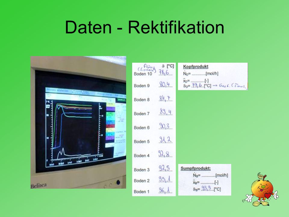 Daten - Rektifikation