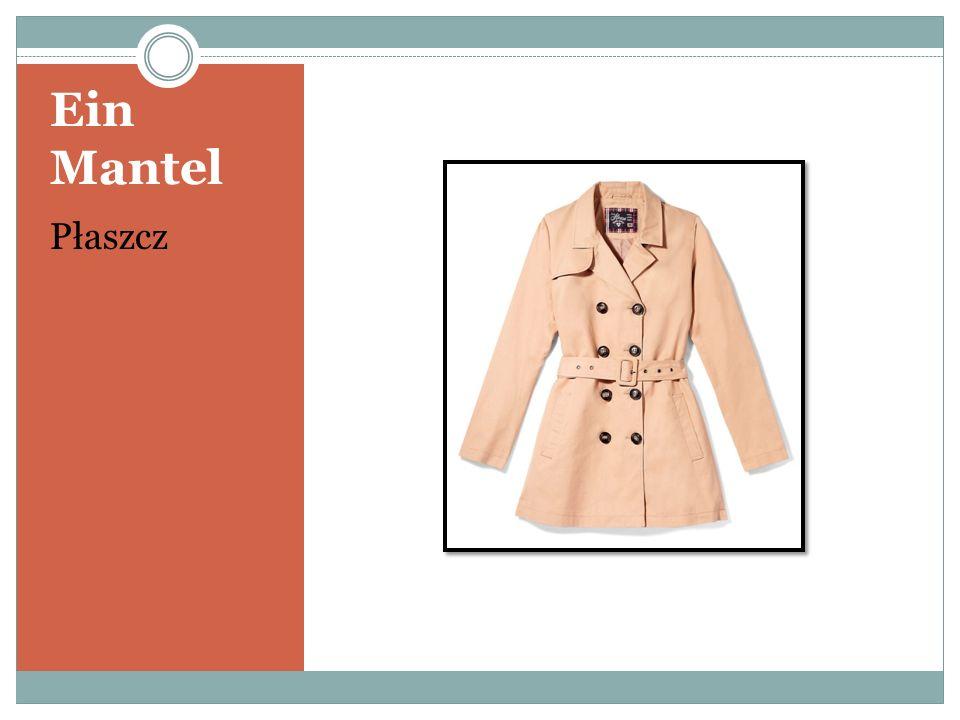 Ein Mantel Płaszcz