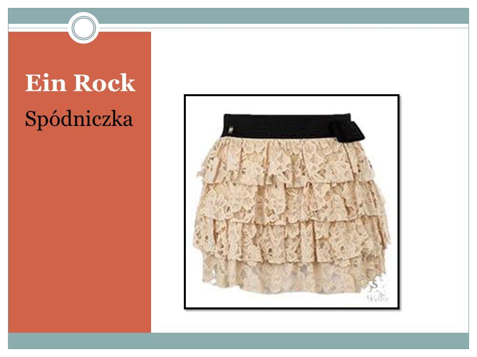 Ein Rock Spódniczka