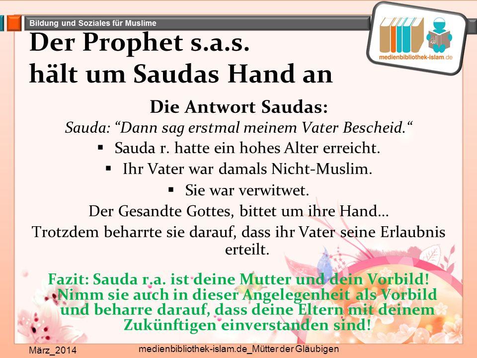 Der Prophet s.a.s.