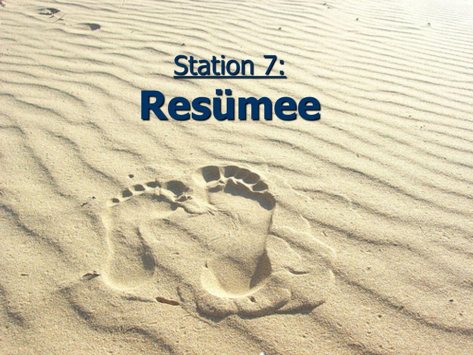Station 7: Resümee