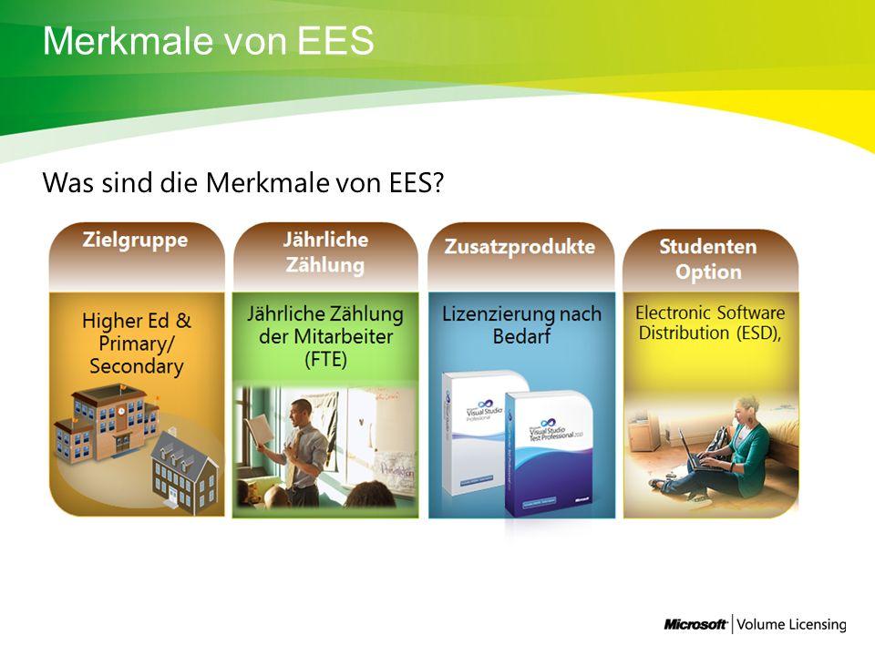 Merkmale von EES Was sind die Merkmale von EES
