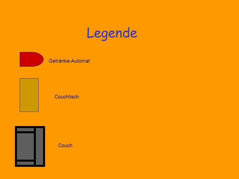Getränke-Automat Couchtisch Couch Legende