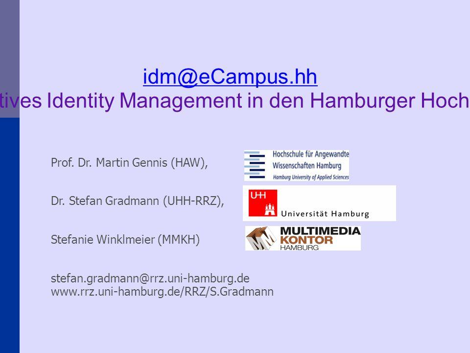 Prof. Dr. Martin Gennis (HAW), Dr.