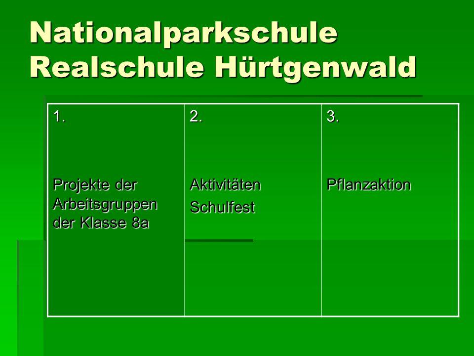 Nationalparkschule Realschule Hürtgenwald 1.
