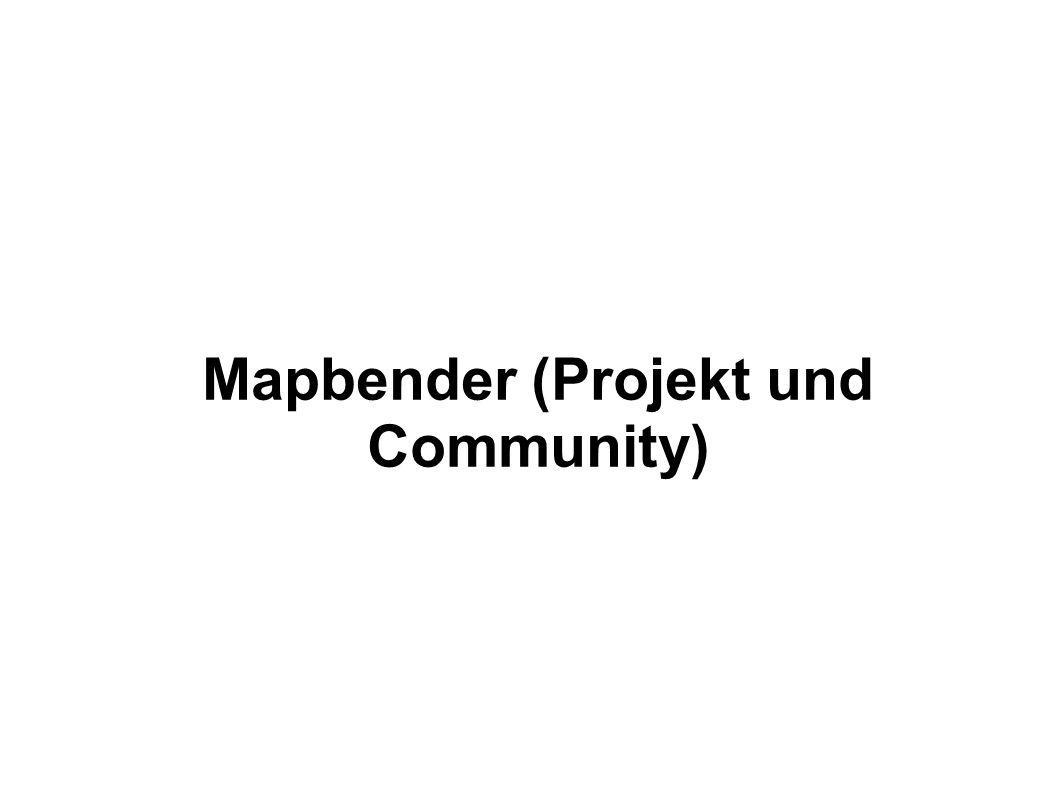 Mapbender (Projekt und Community)
