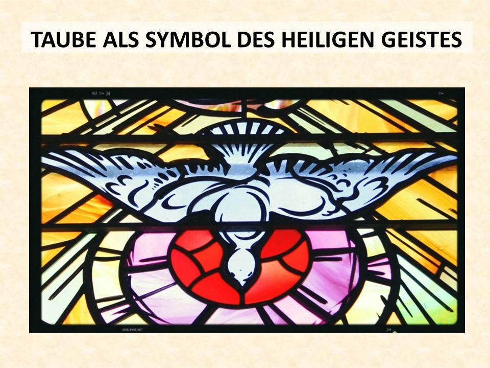 TAUBE ALS SYMBOL DES HEILIGEN GEISTES