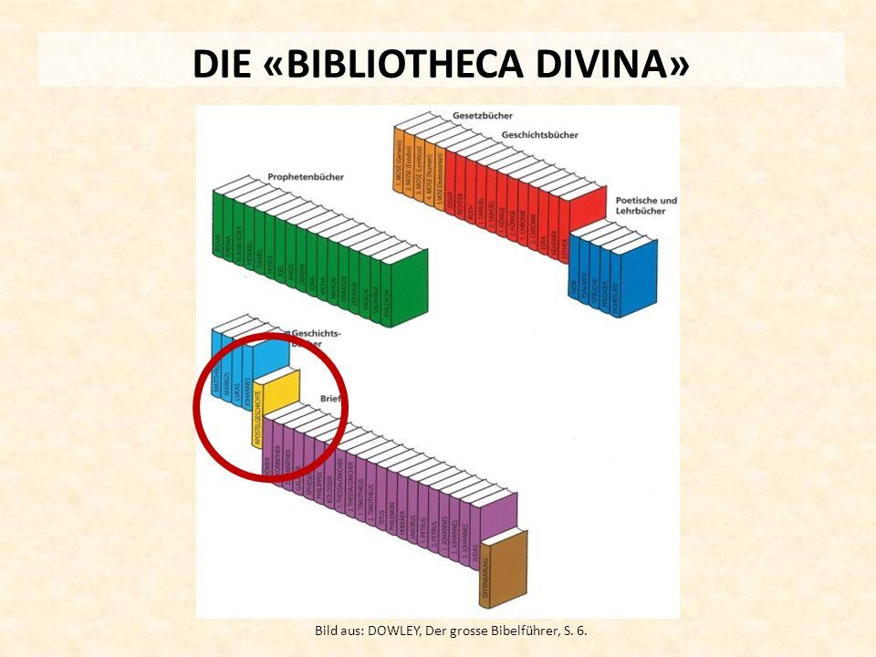 DIE «BIBLIOTHECA DIVINA» Bild aus: DOWLEY, Der grosse Bibelführer, S. 6.