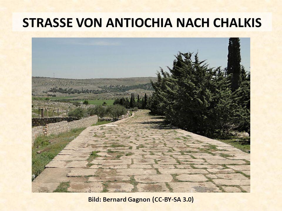 STRASSE VON ANTIOCHIA NACH CHALKIS Bild: Bernard Gagnon (CC-BY-SA 3.0)