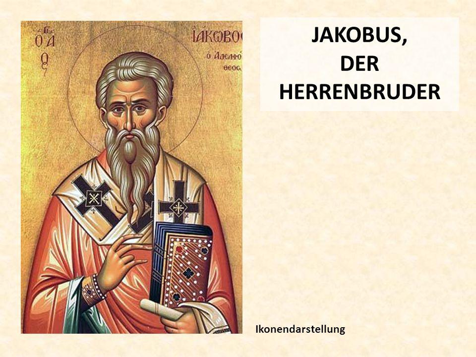 JAKOBUS, DER HERRENBRUDER Ikonendarstellung