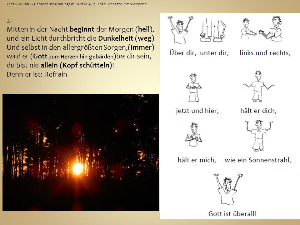Text & Musik & Gebärdenzeichnungen: Kurt Mikula, Foto: Annette Zimmermann 2.
