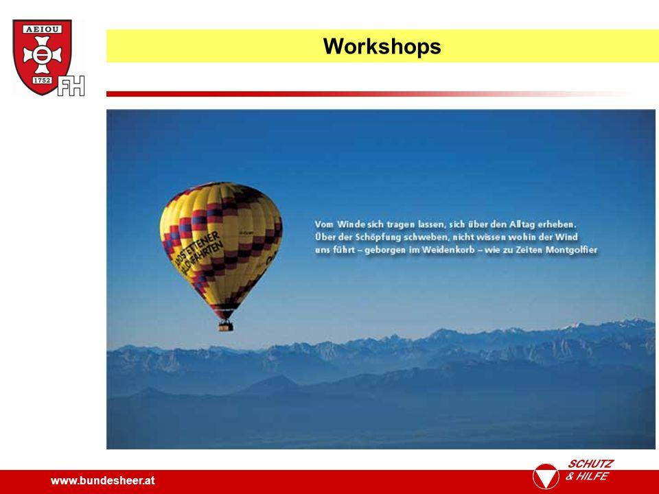 www.bundesheer.at Workshops