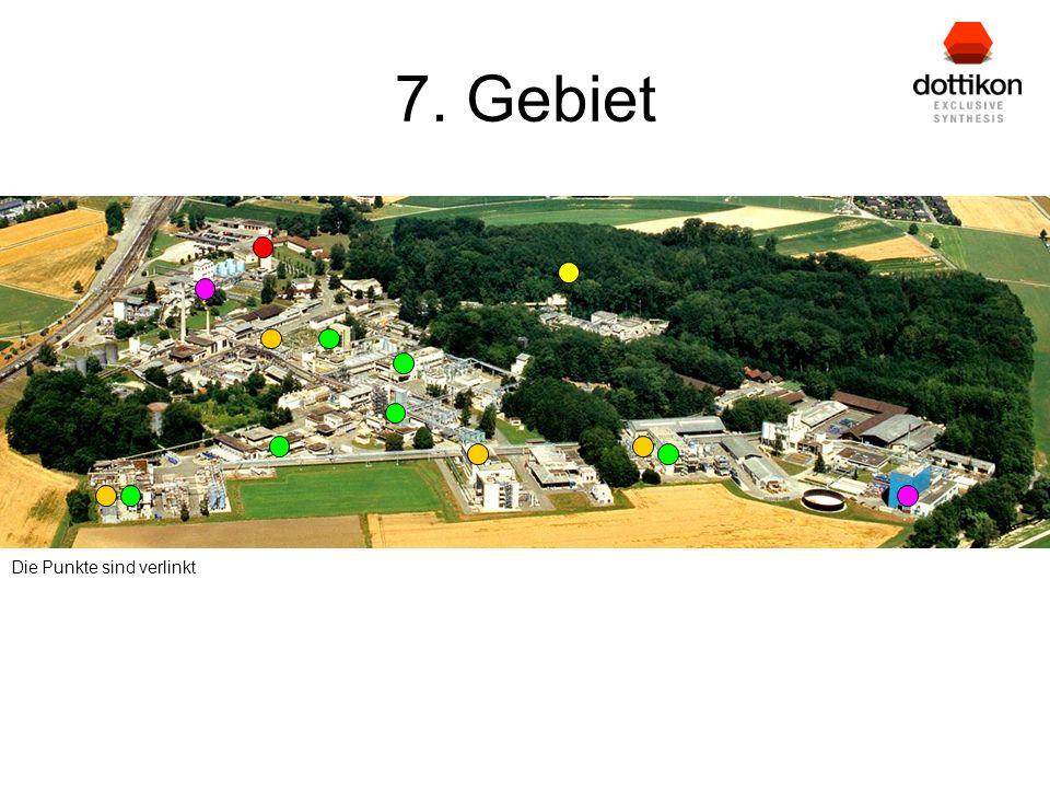 7. Gebiet Die Punkte sind verlinkt