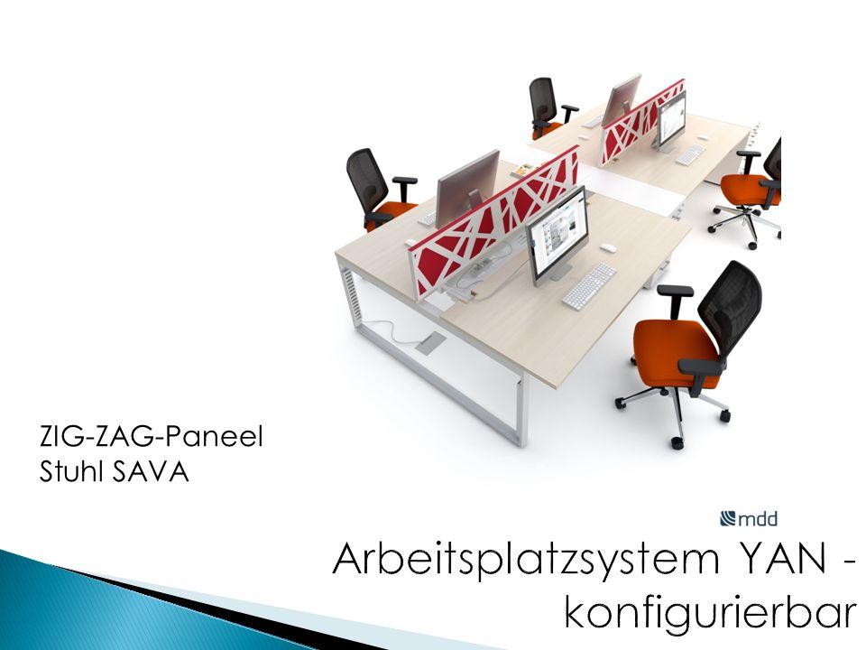 ZIG-ZAG-Paneel Stuhl SAVA