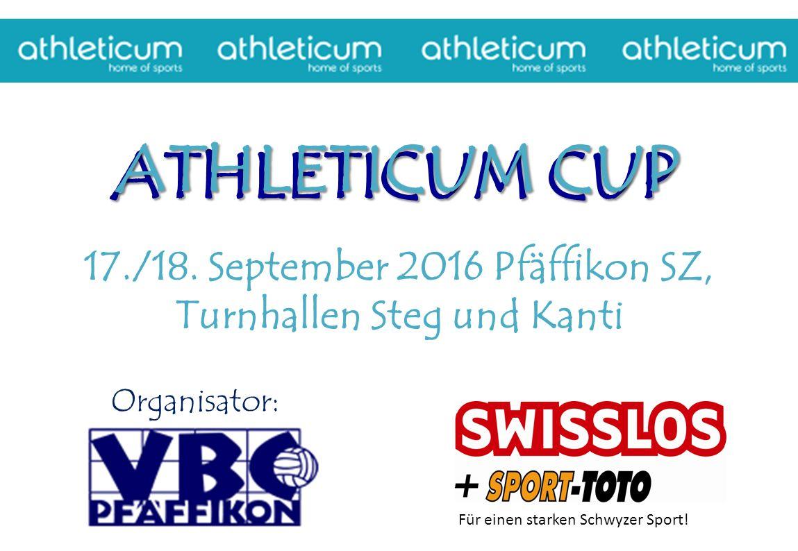 ATHLETICUM CUP ATHLETICUM CUP ATHLETICUM CUP 17./18.