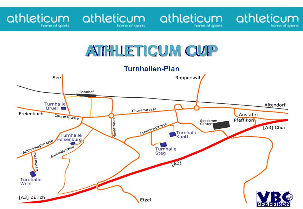 ATHLETICUM CUP Turnhallen-Plan