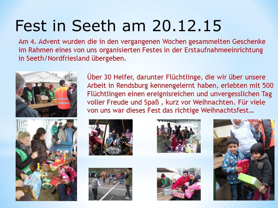 Fest in Seeth am 20.12.15 Am 4.
