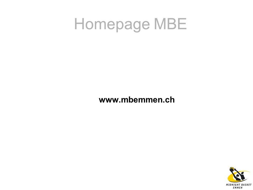 Homepage MBE www.mbemmen.ch