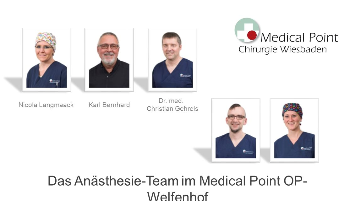 Das Anästhesie-Team im Medical Point OP- Welfenhof Nicola LangmaackKarl Bernhard Dr.