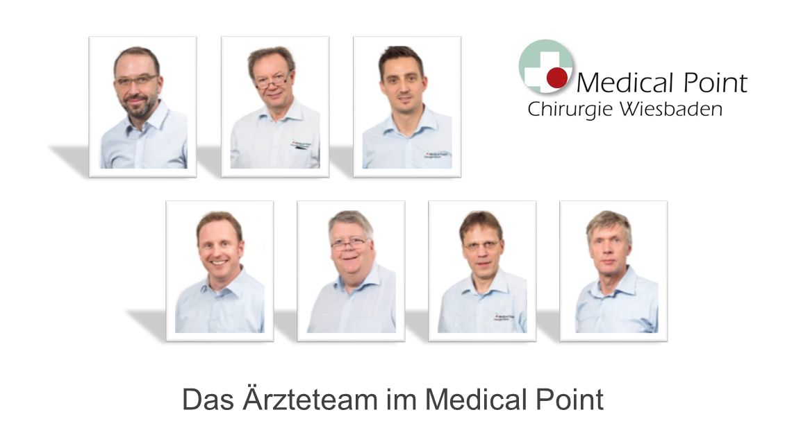 Das Ärzteteam im Medical Point