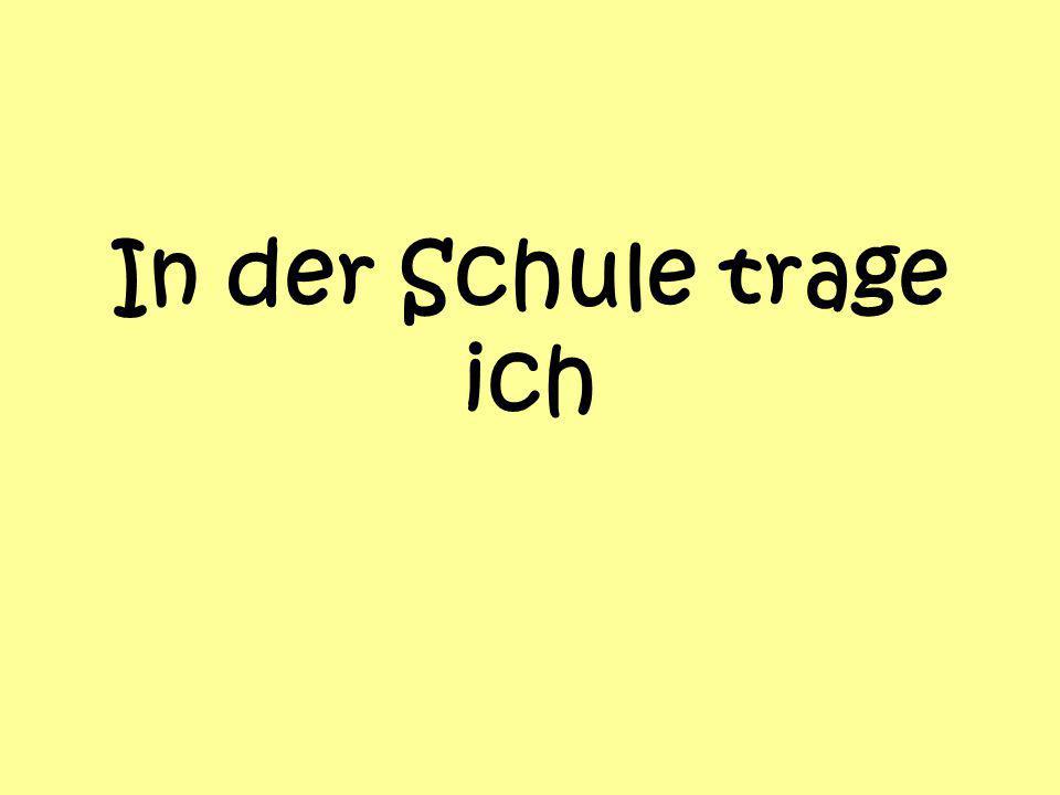 Schreibe auf Deutsch!