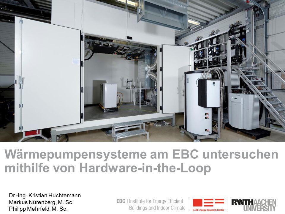 Bild ändern: -Bild anklicken -Bild löschen -Anweisungen folgen Wärmepumpensysteme am EBC untersuchen mithilfe von Hardware-in-the-Loop Dr.-Ing.