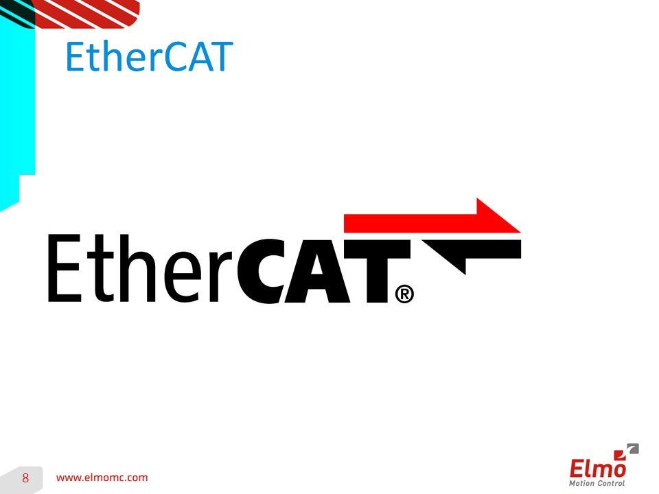 9 Veröffentlichung 2003 EtherCAT ist ein von der Firma Beckhoff initiiertes Echtzeit-Ethernet exakte Synchronisierung (≤ 1 µs) Bis zu 65535 Teilnehmer maximal 100 m zwischen zwei Teilnehmern XML Beschreibung für jeden Teilnehmer EtherCAT Conformance Test prüft offiziell die Konformität