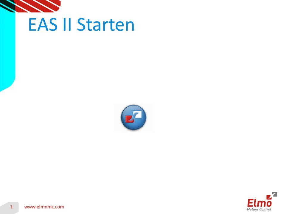 EAS II Starten 3
