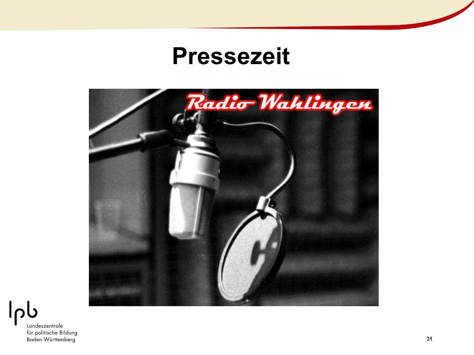 31 Pressezeit