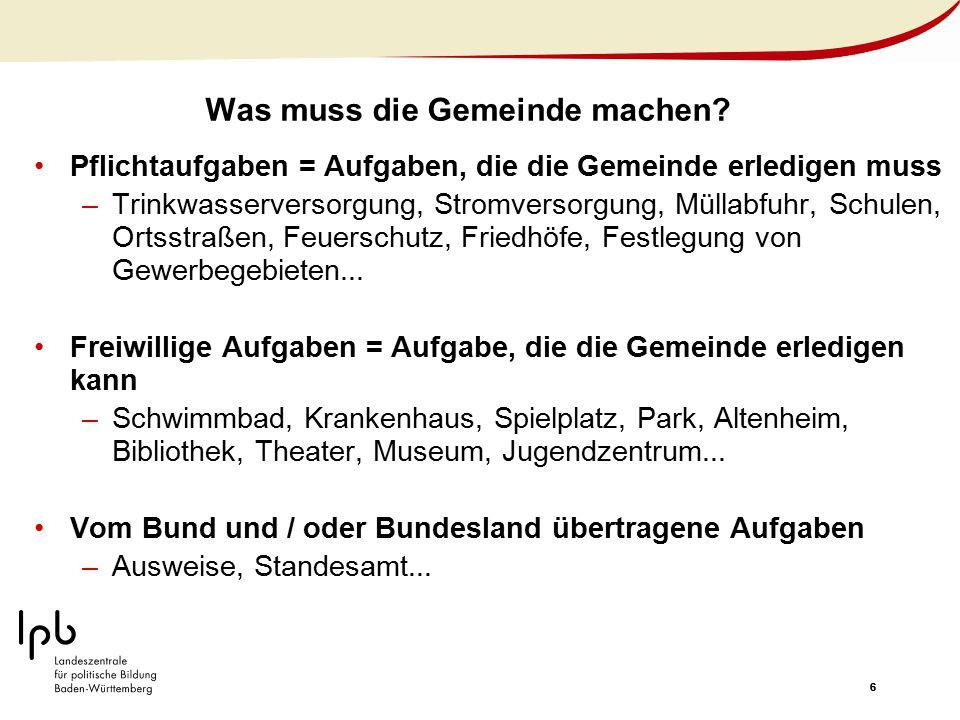 17 Braucht Wahlingen ein Kulturzentrum.