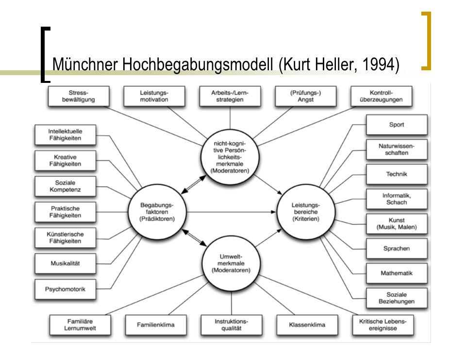 Mentorenfortbildung - Hochbegabung Identifizierung von Hochbegabten Denken in komplexen Zusammenhängen, z.