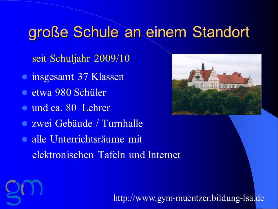 Unterrichtsorganisation 2014/15