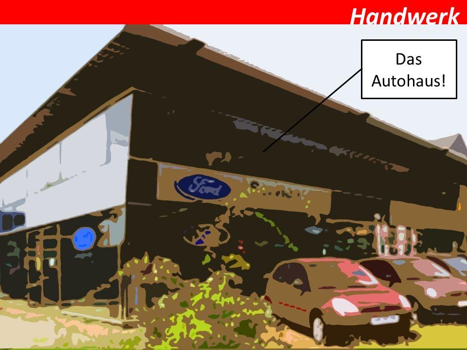 Handwerk Kfz-Mechatroniker/in Als Kraftfahrzeugmechatroniker/in repariert man Autos oder wechselt Reifen und prüft Systeme.