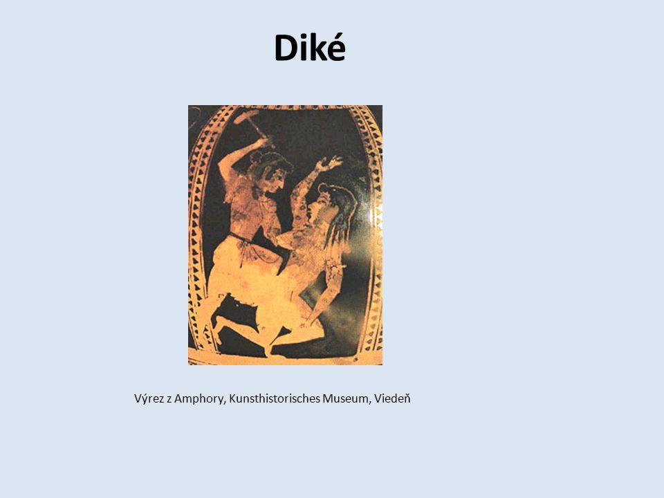 Diké Výrez z Amphory, Kunsthistorisches Museum, Viedeň