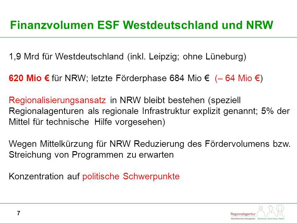 7 1,9 Mrd für Westdeutschland (inkl.