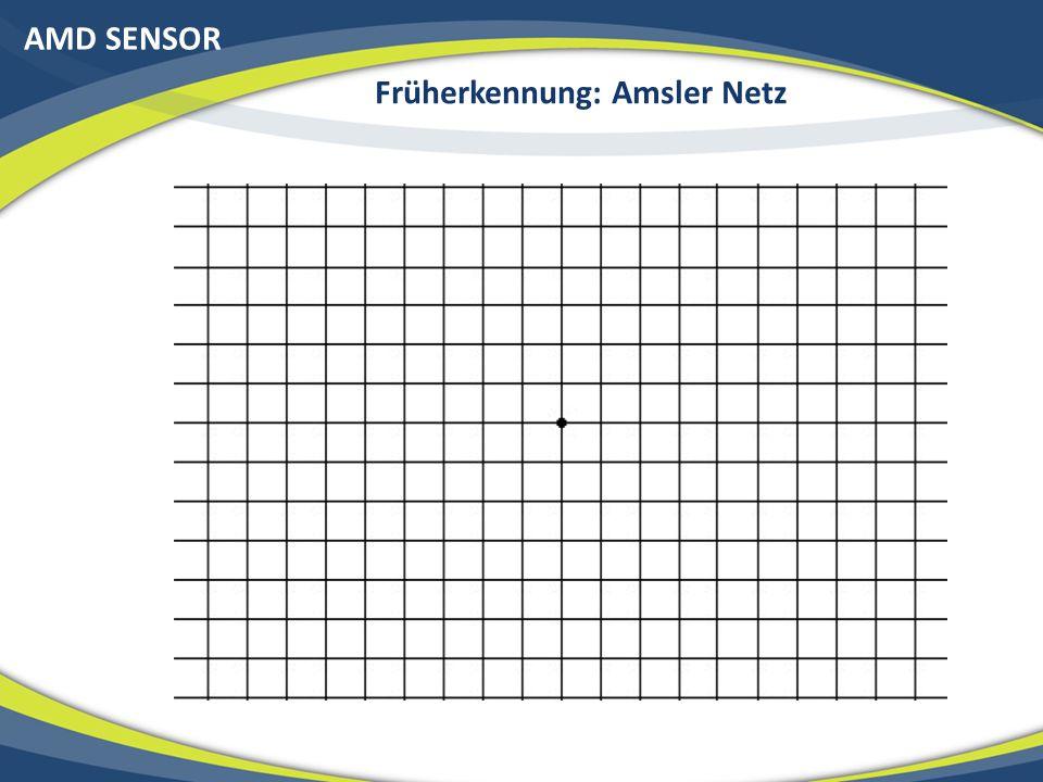 AMD SENSOR Früherkennung: Amsler Netz