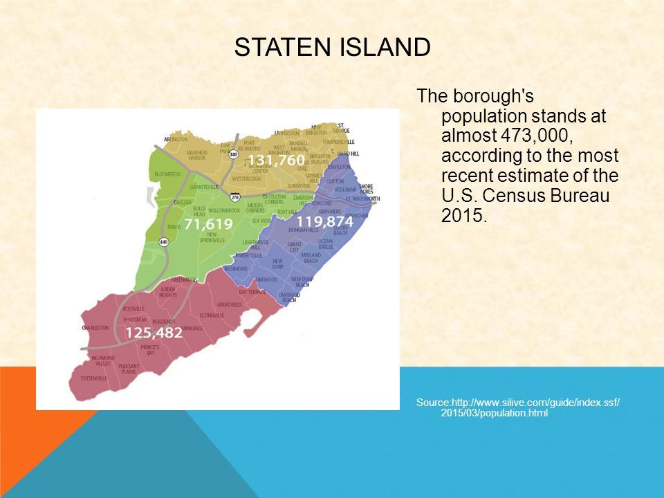 The borough s population stands at almost 473,000, according to the most recent estimate of the U.S.
