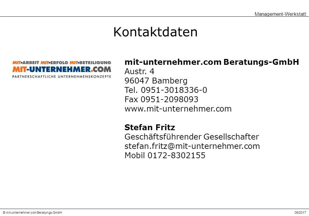 06/2017© mit-unternehmer.com Beratungs-GmbH Kontaktdaten mit-unternehmer.com Beratungs-GmbH Austr.