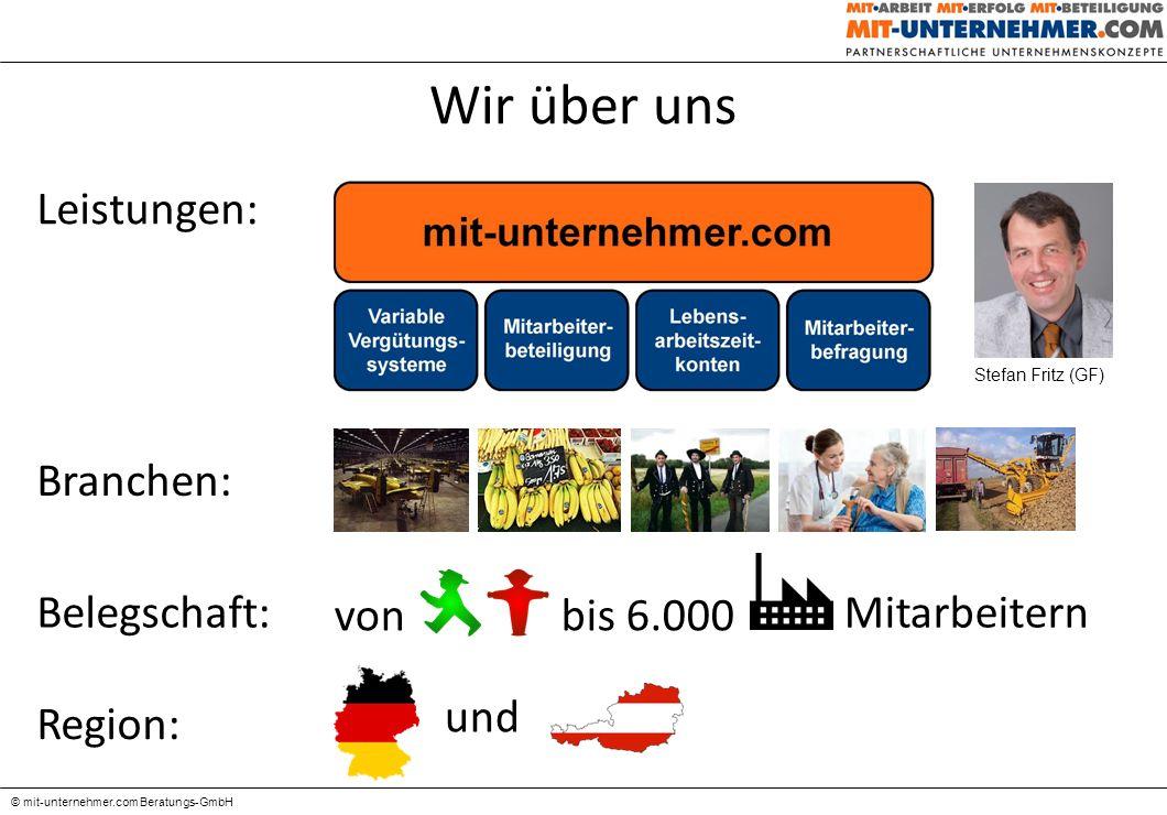 Variable Vergütungssysteme - Trends, Ziele + Einführung - © mit-unternehmer.com Beratungs-GmbH