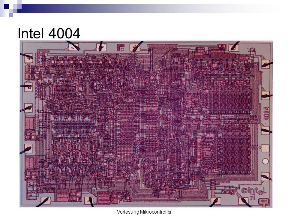 Vorlesung Mikrocontroller Intel 4004
