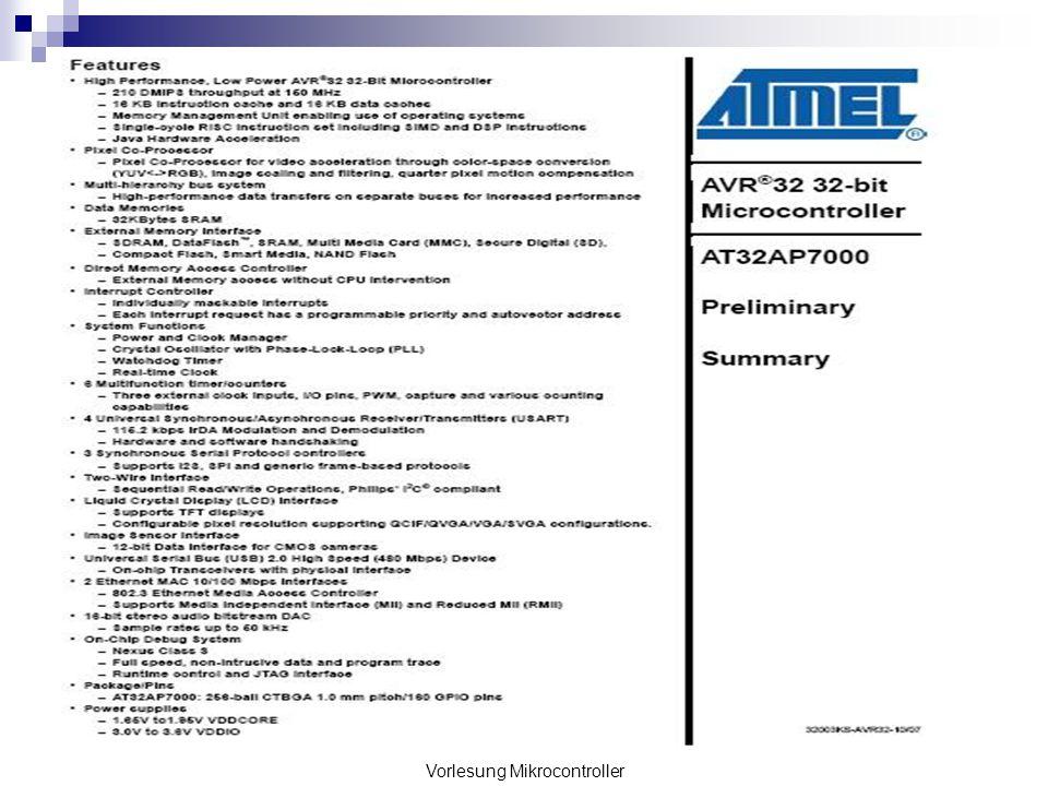 Überblick Geschichte des Mikrocontrollers Aufbau und Funktion Mikroprozessor Peripheriekomponenten Datenübertragung Parallel Seriell Programmierung eines Mikroprozessors in Assembler PID-Regler
