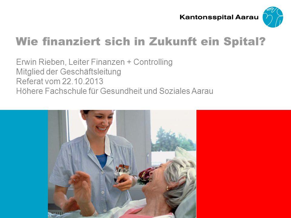 Wie finanziert sich in Zukunft ein Spital.
