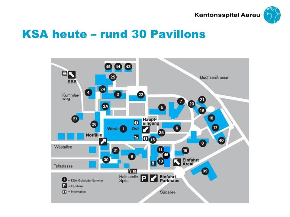 KSA heute – rund 30 Pavillons 46
