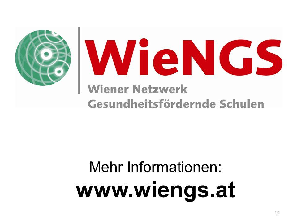 13 Mehr Informationen: www.wiengs.at