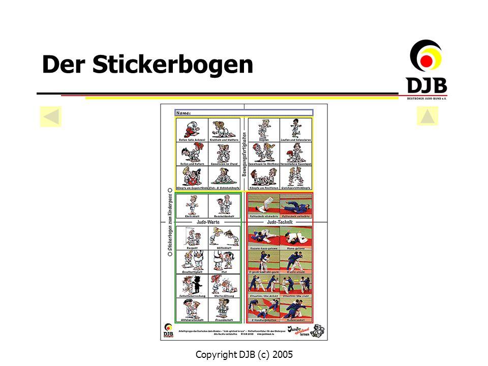 Copyright DJB (c) 2005 Der Stickerbogen